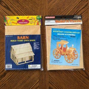 Paintable BUILD-A-PUZZLE Kits